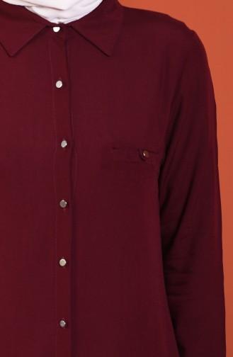 Claret red Tunic 30001-04