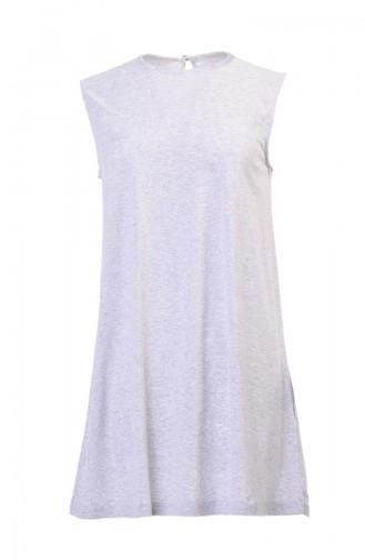 Sleeveless Underwear Light Gray 6156-09
