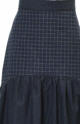 Navy Blue Skirt 3105-05