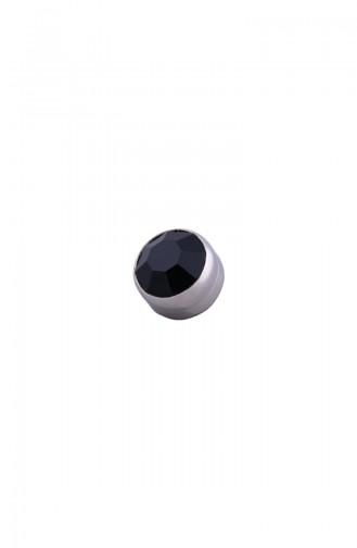 Schwarz Schal Kopftuch Nadel 06-0100-02-40-T
