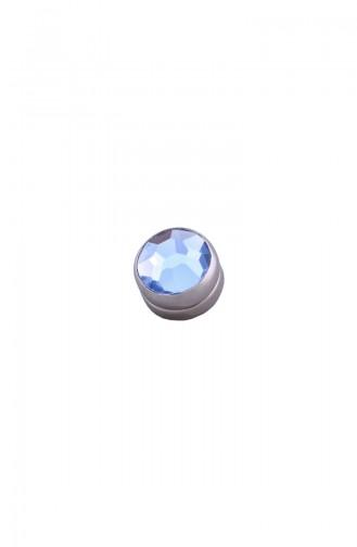 Mavi Basic Eşarp Mıknatısı 06-0100-47-40-T