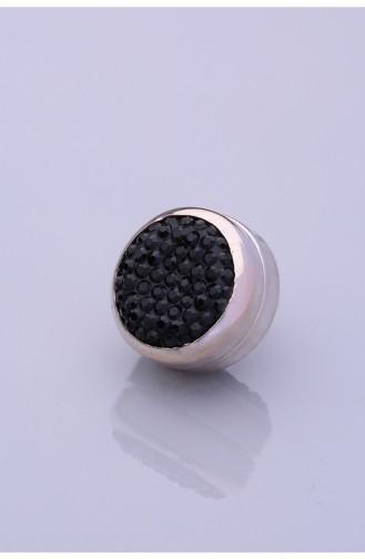 دبوس ايشارب / شال أسود 06-0101-02-10-T