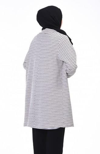 معطف بقبة مزدوجة بيج 0002-01