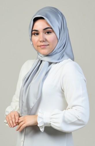 Aker S Rayon Eşarp 6385-769-975 Gümüş Gri 6385-769-975