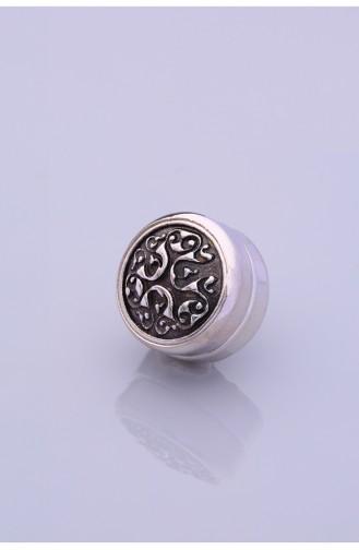 Gümüş Kaplama Eşarp Mıknatısı 06-0907-44-10-T 06-0907-44-10-T