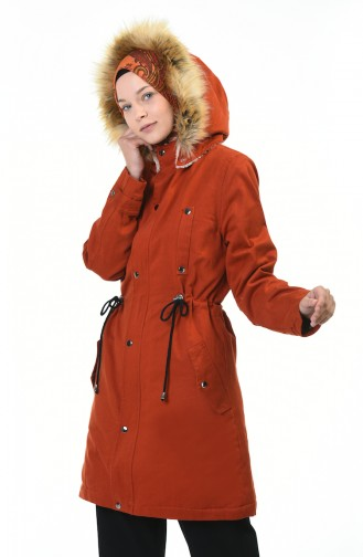 Tile Long Coat 9016-02