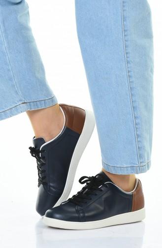 Letoon Bayan Spor Ayakkabı STI01-03 Lacivert 01-03
