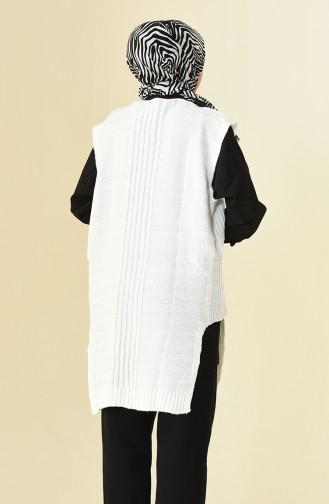 Salopet Trikot Sweater 8028-09 Naturfarbe 8028-09