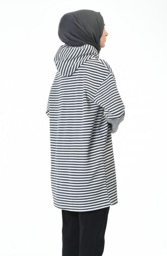 قميص رياضي رمادي 9036-03