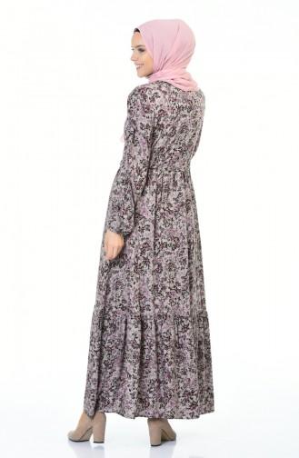 Beige Dress 0010D-01