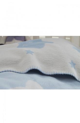 Blau Babydecken 10301030