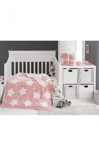 Dolce Bonita Home Couverture Coton Pour Bébé 10301031 Rose 10301031