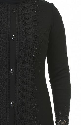 فستان أسود 8K3811500-01