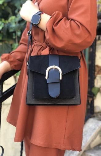 Women´s Cross Shoulder Bag Black 06-01