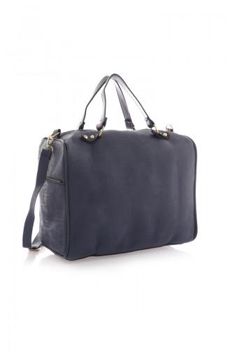 Navy Blue Shoulder Bag 07Z-02
