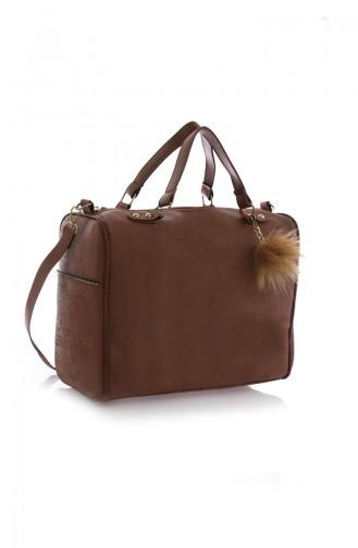 Tobacco Brown Shoulder Bag 07Z-05