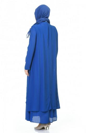 Robe Hijab Blue roi 0505-03