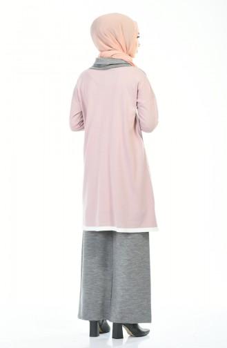 Tunic Trousers Double Set Ecru Powder 4140-04
