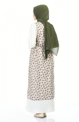 Ecru Dress 0100-05