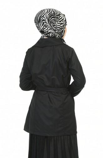 ترانش كوت أسود 1015-03