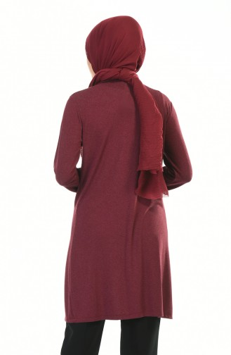 Claret red Tunic 2214-05