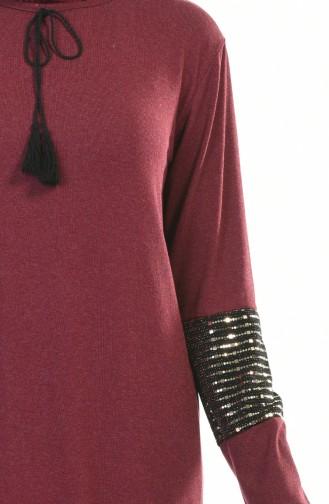 Claret red Tunic 2215-01