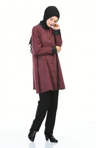 Claret red Tunic 1583-01