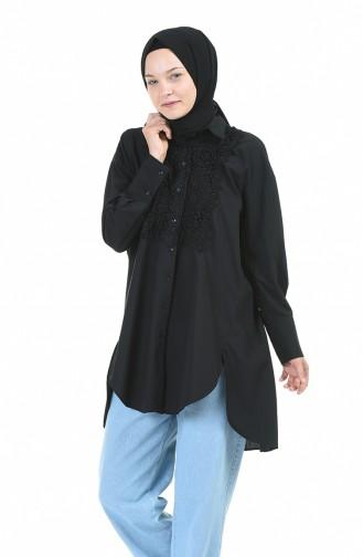 Schwarz Hemd 5006-01