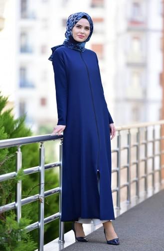 Navy Blue Abaya 2129-04