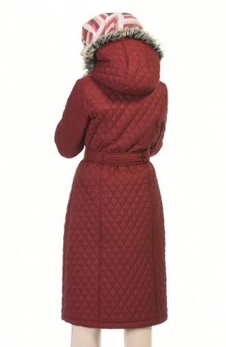 Claret Red Winter Coat 504319-03