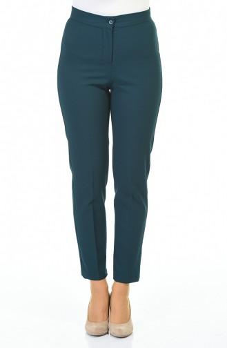 Pantalon Vert emeraude 1112-02