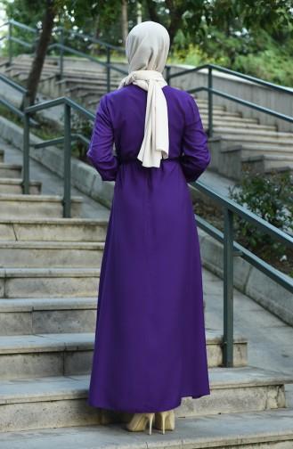 Lila Hijap Kleider 10121-09