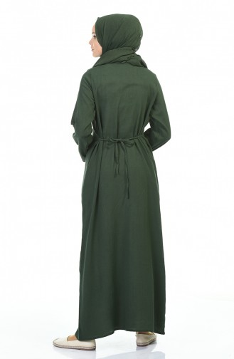 Khaki Dress 0065-01