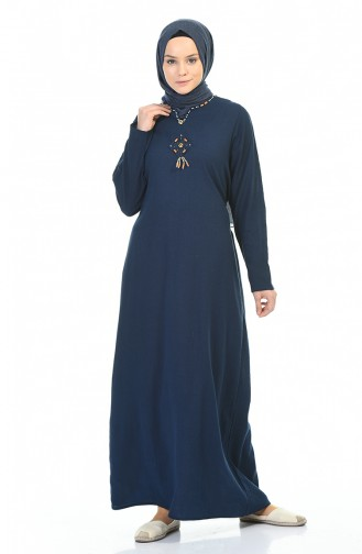 Navy Blue Dress 0065-03