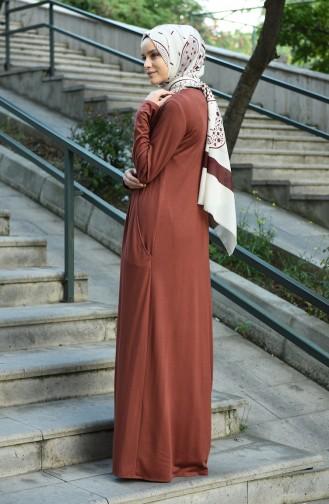 Braun Hijap Kleider 8058-01