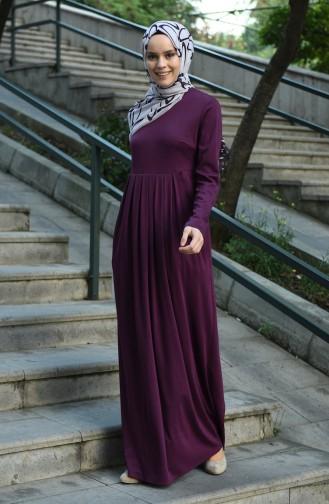 Robe Hijab Plum 8058-06