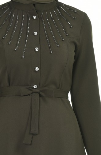 Robe Hijab Khaki 9612-01