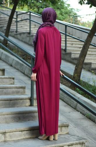 Zwetschge Hijap Kleider 1027-04