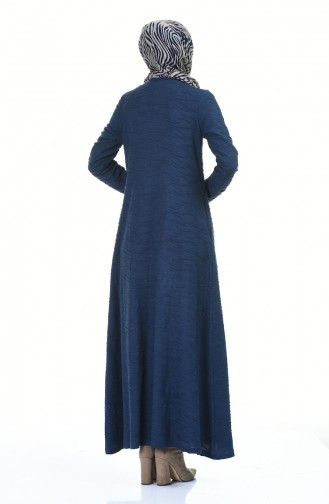 Navy Blue Dress 0117-03