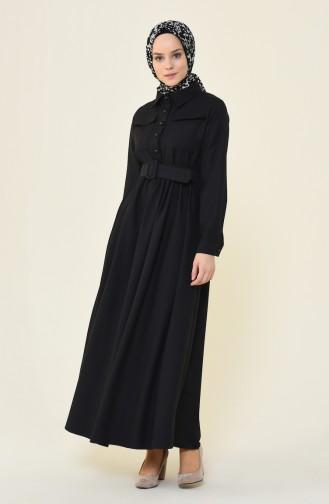فستان أسود 4033-05