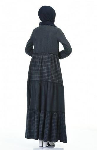 Robe Hijab Bleu Marine 3106-01
