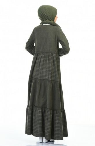 فستان كاكي 3106-03