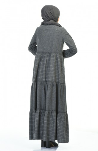 Robe Hijab Gris 3106-05