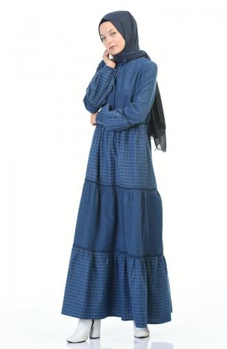 Robe Hijab Indigo 3106-06