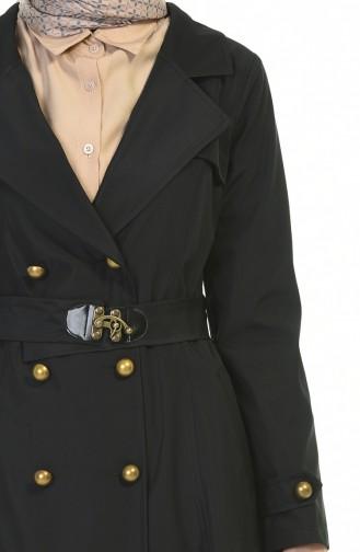 Trench Coat Noir 8938-02