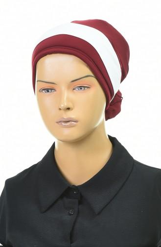 القبعات أحمر كلاريت 1054-02
