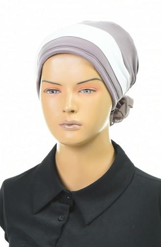 Doppelte Farbe bereite Turban-Bonnet  1054-09 Nerz 1054-09