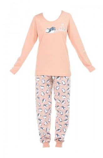 Salmon Pyjama 709043-01