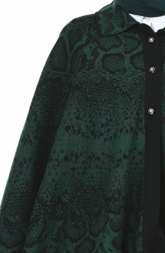 Ponchos Vert emeraude 1004C-01