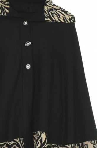 Ponchos Noir 1004E-04